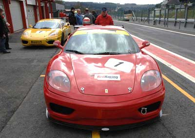 Red racing FERRARI
